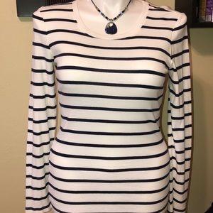 Gap Supersoft Crewneck Pullover Stripe T-Shirt